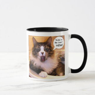 "GABRIEL ""Order in the Court""  NOW! Mug"