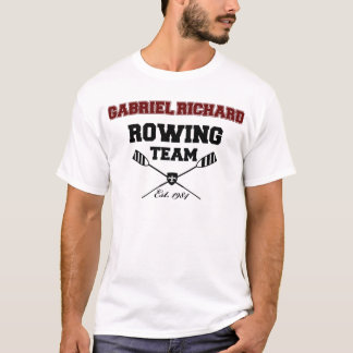 Gabriel Richard Rowing Team T-Shirt