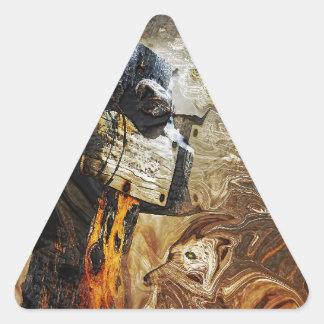 Gabriel Triangle Sticker
