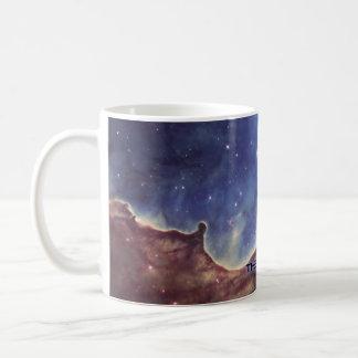 Gabriela Mistral Nebula Classic White Coffee Mug