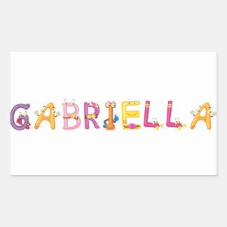 Gabriella Sticker