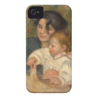 Gabrielle et Jean by Pierre-auguste Renoir iPhone 4 Covers