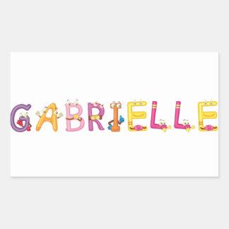 Gabrielle Sticker