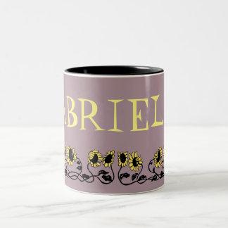 GABRIELLE Two-Tone COFFEE MUG