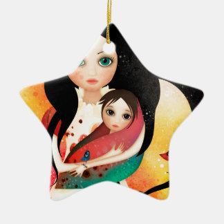 Gabriel's Mother Ceramic Star Ornament