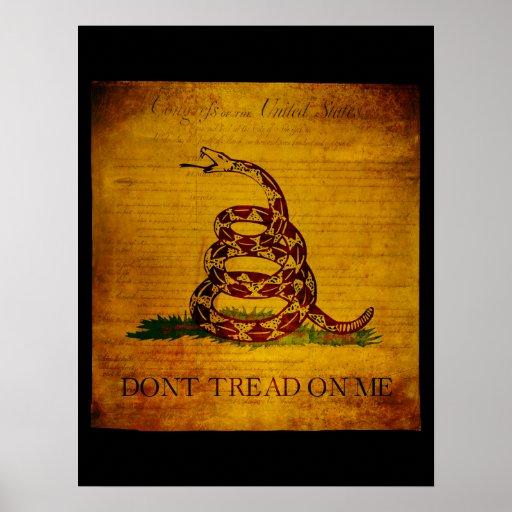 Gadsden Bill of Rights Poster