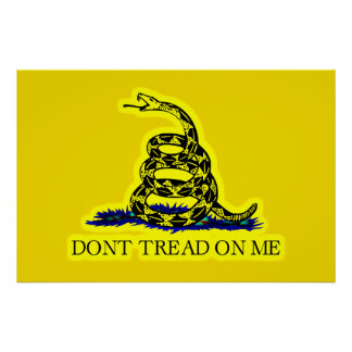 Gadsden (Dont Tread On Me) Flag Specialty Flag Poster