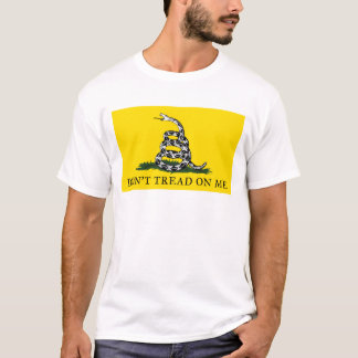 Gadsden - Don't Tread On Me FLAG T-Shirt