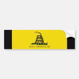 Gadsden Flag Bumper Sticker