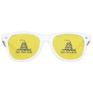Gadsden Flag Coiled Snake Retro Sunglasses