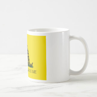 Gadsden Flag - Don't Tread On Me -  Coiled Snake Coffee Mug