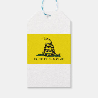 Gadsden Flag - Don't Tread On Me -  Coiled Snake Gift Tags