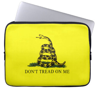 Gadsden Flag Dont Tread On Me Laptop Sleeve