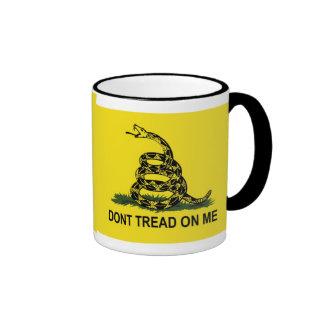 Gadsden Flag Dont Tread On Me Ringer Mug