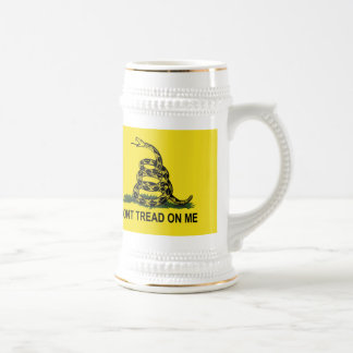 Gadsden Flag Dont Tread On Me Stein