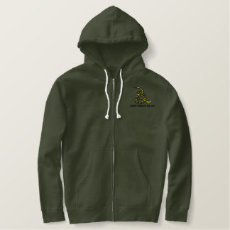 Gadsden Flag Embroidered Hoodie