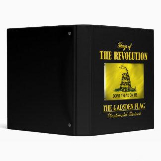 Gadsden Flag (FR) Vinyl Binder