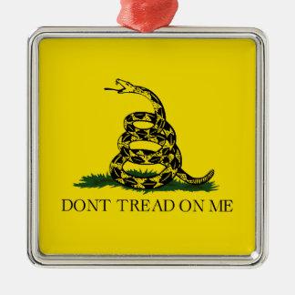 Gadsden Flag Metal Ornament