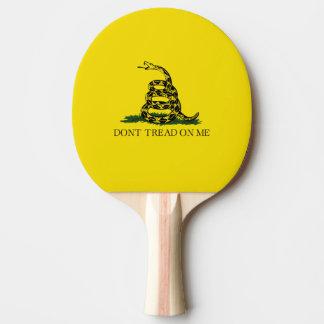 Gadsden Flag Ping Pong Paddle