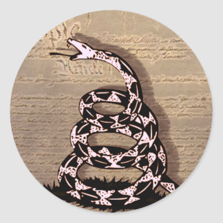 Gadsden Snake Sticker