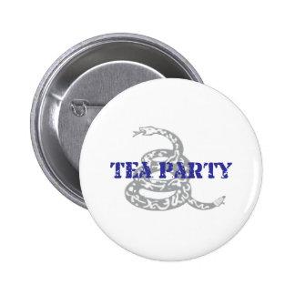 Gadsden Tea Party 2 Inch Round Button