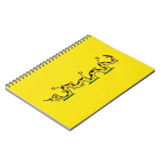 Gadsden Trodden Spiral Notebook
