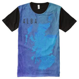 Gaelic Scotland Alba Map