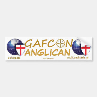 GAFCON ANGLICAN CAR BUMPER STICKER