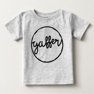 Gaffer British Soccer Slang Dialect Tee Shirt