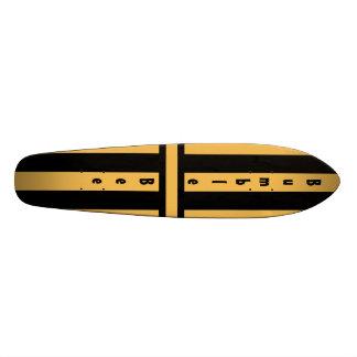 Gaffez l'abeille Stinger Skateboard 21,6 Cm