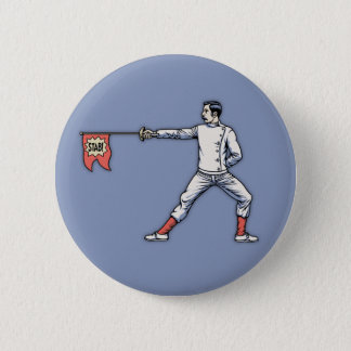 Gag Epee 2 Inch Round Button