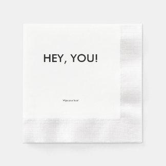 gag gift paper napkin