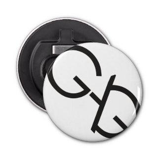 GaG Logo Bottle Opener Button Bottle Opener