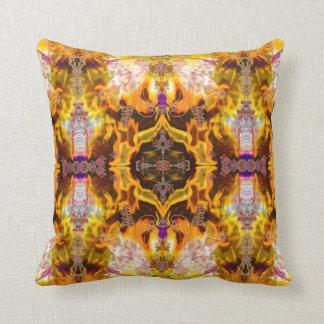 GaGa Fire Art Pillow by Deprise