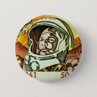 Gagarin 2 Inch Round Button
