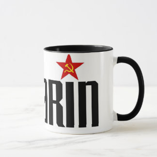 Gagarin Red Star Mug