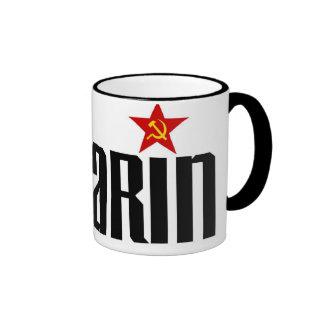 Gagarin Red Star Coffee Mug