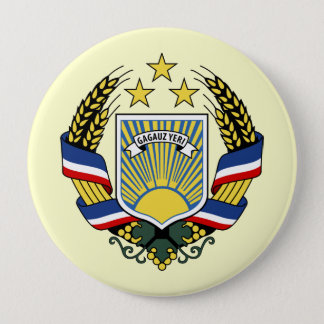 Gagauzia, Moldova 4 Inch Round Button