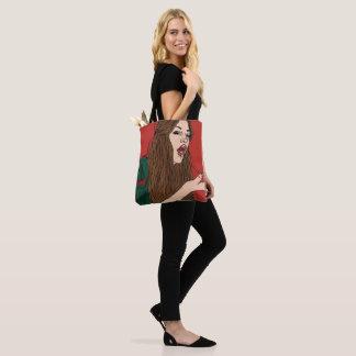 Gagging Babe Tote Bag