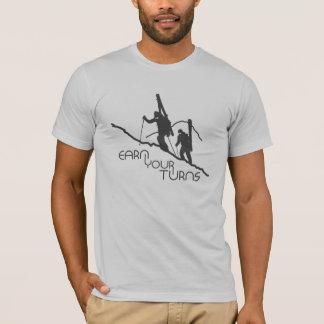 Gagnez vos tours t-shirt