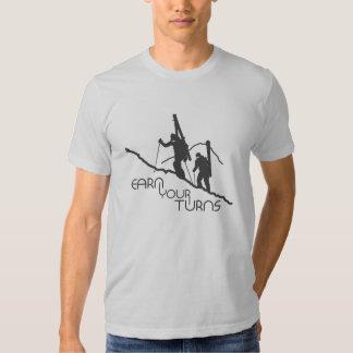 Gagnez vos tours tshirts
