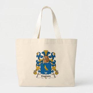 Gagnon Family Crest Jumbo Tote Bag