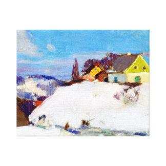 Gagnon - Farm, Baie Saint Paul Canvas Print