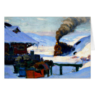 Gagnon - The Train, Baie-Saint-Paul Card