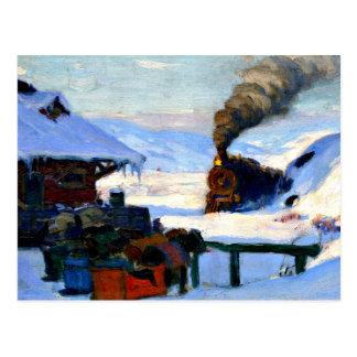 Gagnon - The Train, Baie-Saint-Paul Postcard