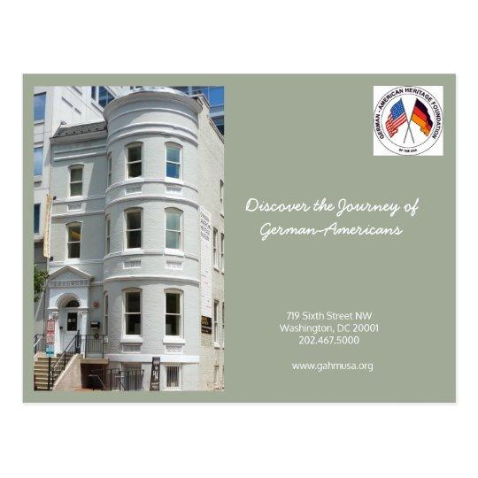 GAHF Postcard