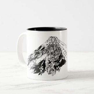 GAI Tribal Mt.Fuji Mag - the try val Mt. Fuji Two-Tone Coffee Mug