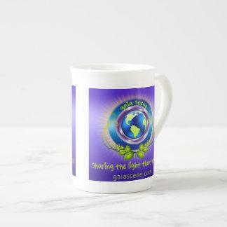 Gaia Scene Bone China Tea Cup