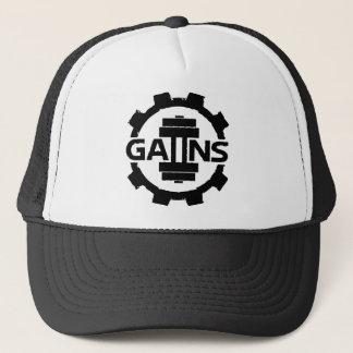 GAIINS BODYBUILDING APPAREL *NEW* DESIGN* HAT* TRUCKER HAT