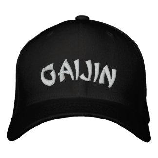 Gaijin  外人 embroidered hat